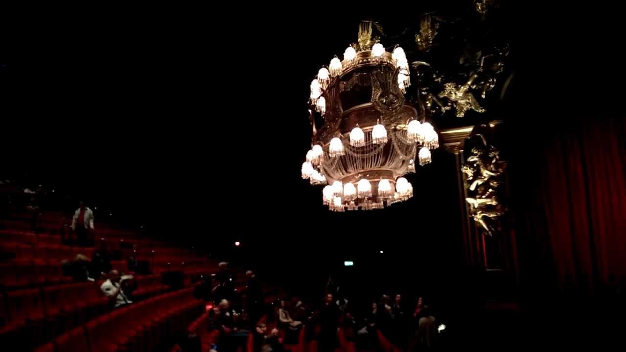Kronleuchter Das Phantom Der Oper 2013 Hamburg Youtube