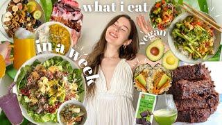 What   Really Eat In A Week - Vegan Easy Realistic