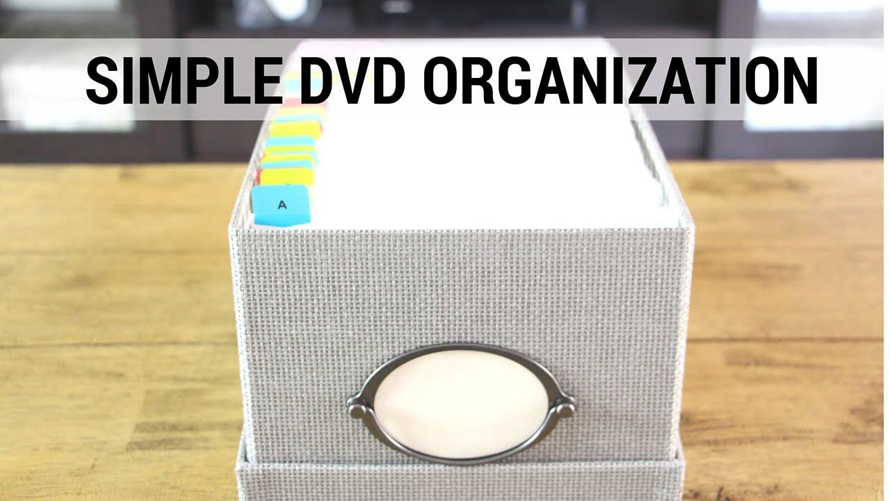 Dvd Organization How To Organize