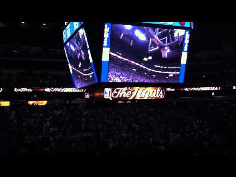 NBA Finals: End of Game 2 - Inside the American Airlines Center