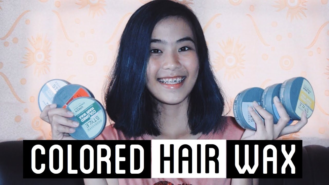 Penshoppe Style Colored Hair Wax Review + Short Hair?! (6 Colors)   Casey Robles