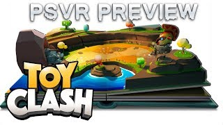 Toy Clash is coming to PSVR soon | Tower Offense Strategy game