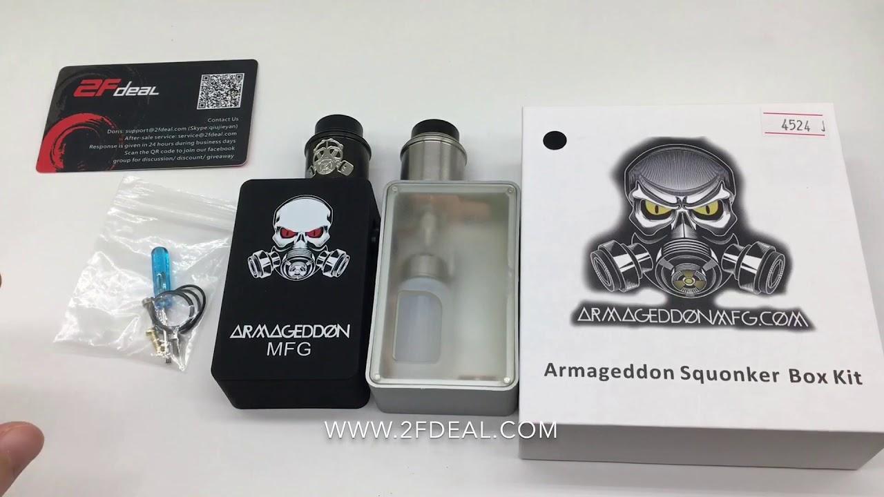 [2Fdeal]Armageddon Style Squonk Kit