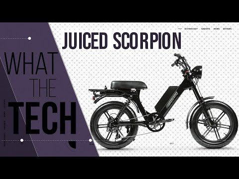 Juiced Bikes Scorpion Is An E-Bike With A Motorcycle Spirit