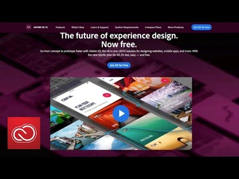 The FREE Adobe XD Starter Plan Is Here