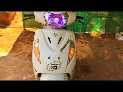 How to install double indicators ( HAZARD LIGHTS ) on all scooters | in 20 Rs | hindi