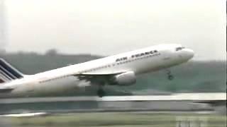 homem filma Terrível !! Acidente com Avião da AIR-FRANCE