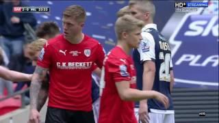 Barnsley 3-1 Millwall Play Off Final Highlights (15/16)