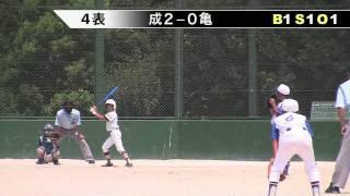 亀崎クラブ 支部長杯1回戦 対成岩SCウイング 20110811
