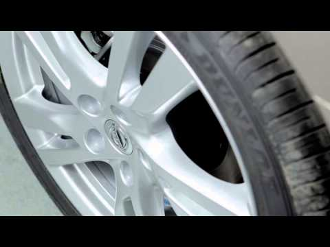 2015 Nissan Altima - Tire Pressure Monitoring System (TPMS) with Easy Fill Tire Alert