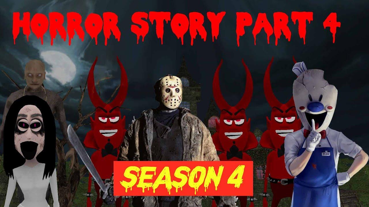 Grandpa | Rod Ice scream | Granny | Jason | डरावनी कहानी (Horror Story Joke Part 4 Season 4) MJH