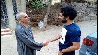 شاهد محمد صلاح يتجول في شوارع  قريته  عند عودته من ليفربول