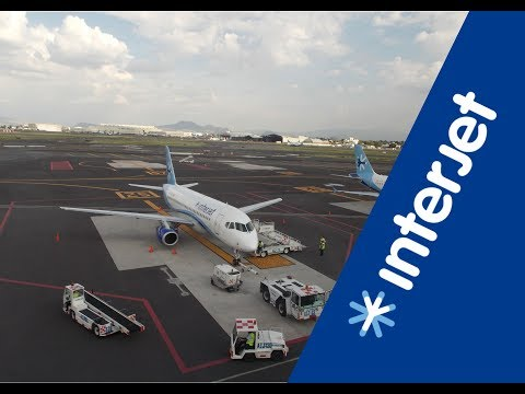 Interjet Sukhoi Superjet 100  |  Mexico City to San Luis Potosi (full flight).