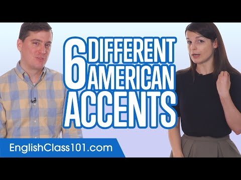 6 Different American Accents