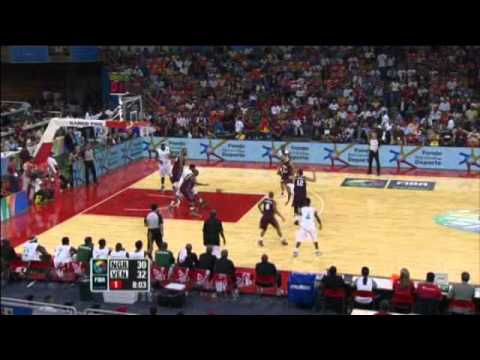 Venezuela Vs. Nigeria / 2012 FIBA Olympic Qualifying Tournament