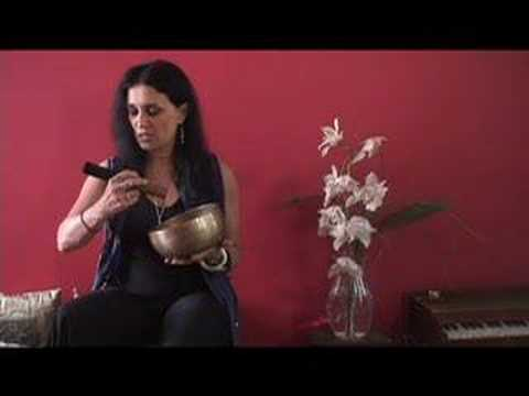 How to Play a Singing Bowl