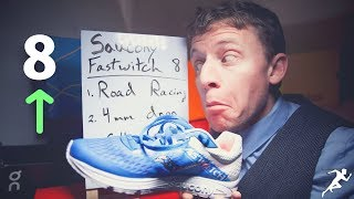 Saucony Fastwitch 8 First Impressions + YouTube Discussion