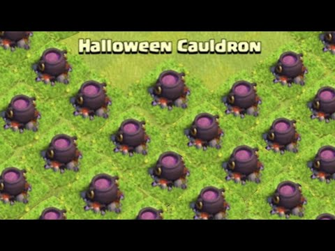 Clash of Clans - OCTOBER LEAKED NEW UPDATE! Cauldron? Leaked Halloween Update 2015!