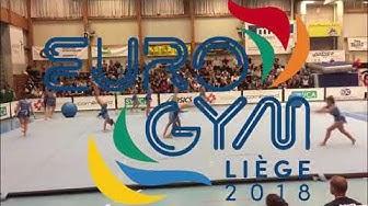 SFG Giubiasco partecipa ad Eurogym 2018