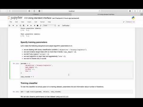 Practical XGBoost in Python - 1.4 - Using Standard Interface