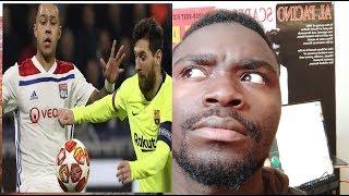 Olympique Lyonnais 0 - 0 FC Barcelone débrief champions league 2019