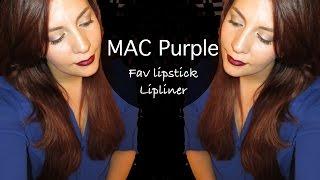 MAC PURPLE LIPSTICKS (FALL FASHION) Thumbnail