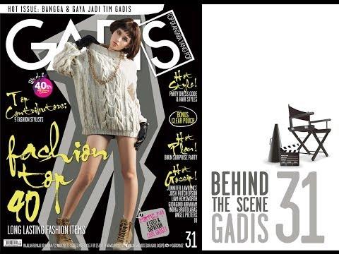 Behind The Scene -- Dahlia Poland for GADISmagz 31/2013