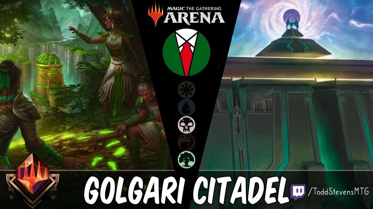 Golgari Citadel: Doom Whisperer makes an appearance