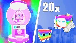Dansk Roblox - Pet Simulator #4: ÅBNER 20 RAINBOW PETS!!