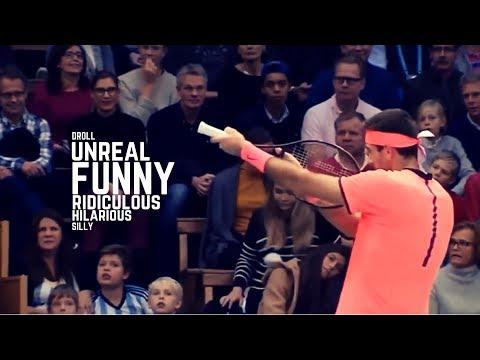 Tennis. Funny Moments - Part 4