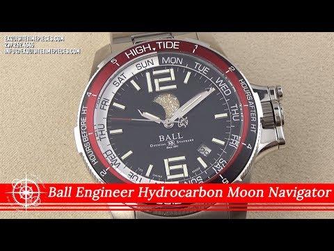 Ball Engineer Hydrocarbon Moon Navigator DM3320C-SAJ-BK Watch Review 2019