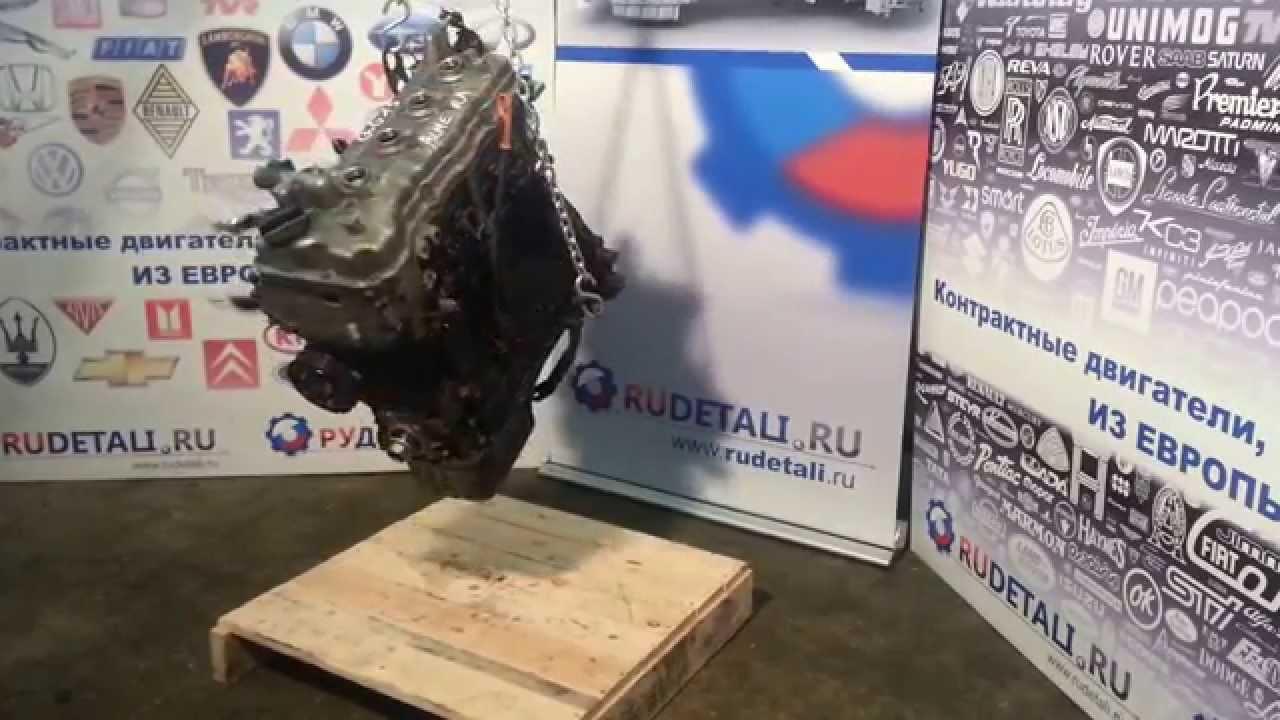 Контрактный б/у двигатель Nissan Almera (Ниссан Алмера) QG15 1.5 из Европы, Видеообзор в HD