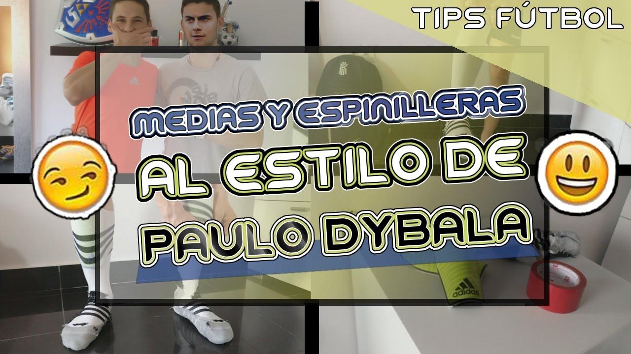 7ad9e7c3729e MEDIAS Y ESPINILLERAS BAJAS estilo Paulo Dybala