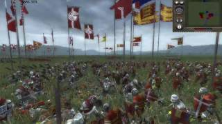 Medieval II Total War Multiplayer Battle #2: The Byzantine Empire/Denmark vs England/France