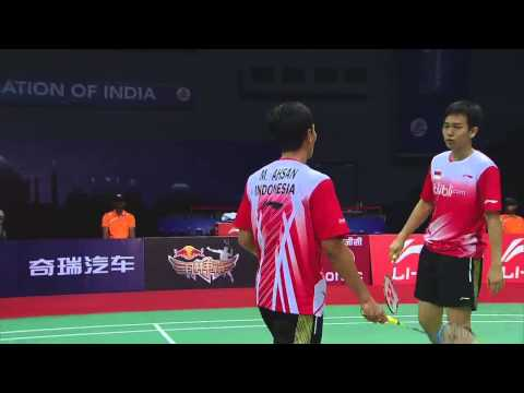 THOMAS AND UBER CUP FINALS 2014 Session 16, Match 2