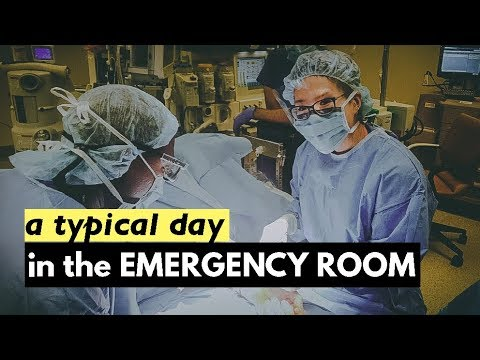 Life of a Doctor: What a Typical Day in the ER looks like! + VLOG