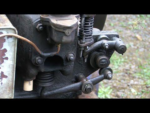 Deutz hit and miss stationary engine - start and run - Stationärmotor