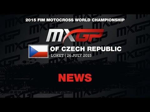 MXGP of Czech Republic News Highlights 2015 - motocross