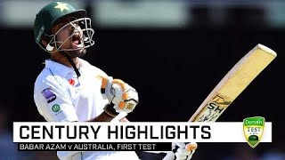 Babar makes a statement with Gabba century