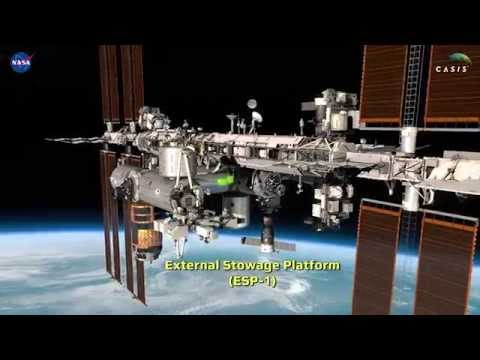 International Space Station (ISS) High-Def Detailed Flyaround ver.150520