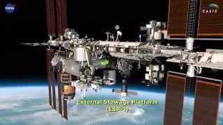 International Space Station (ISS) High-Def Detailed Flyaround ver.150520