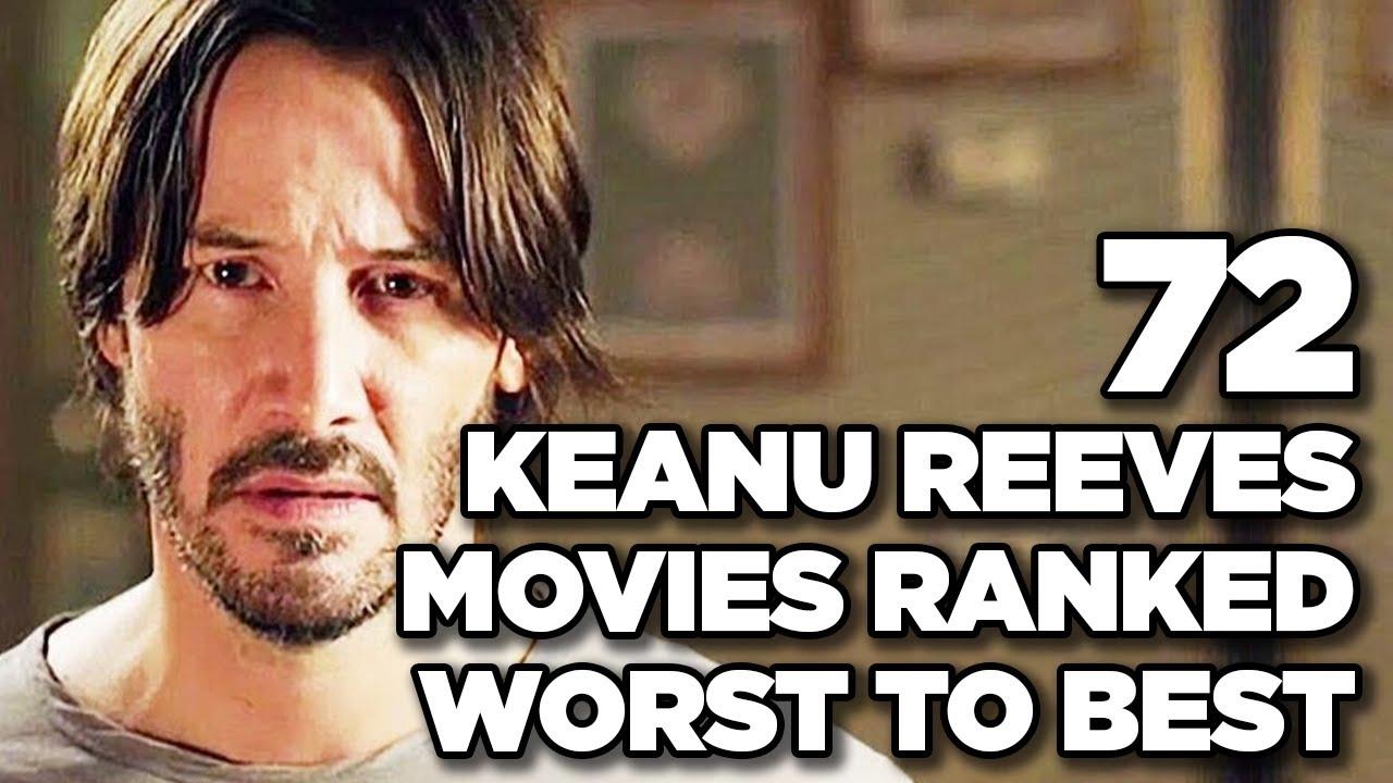 Keanu Reeves' 10 best movies ranked