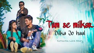 Tumse Milke Dilka Jo Haal | Main Hoon Na | Tiktok famous song | Jeet | Besharam Boyz | famous song