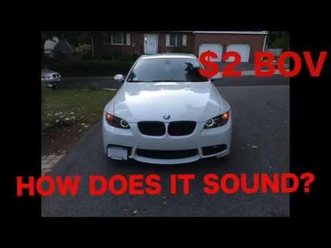$2 Blow Off Valve Sounds BMW 335i, 135i, 535i, N54 Twin Turbo