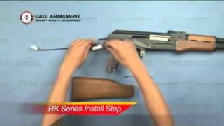 montar ak spestznaz ruso airsoft ak47 ak74 modelo g o tokyo marui classic army vega force cyma
