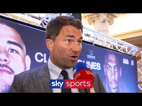 Eddie Hearn on Andy Ruiz vs Anthony Joshua II & the decision to host fight in Saudi Arabia
