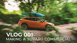 homepage tile video photo for VLOG 001: MAKING A SUBARU COMMERCIAL