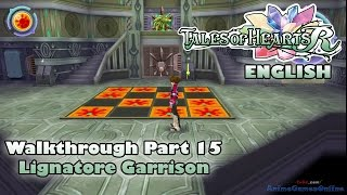Tales of Hearts R - Lignatore Garrison (ENGLISH Part 15 Gameplay Walkthrough)