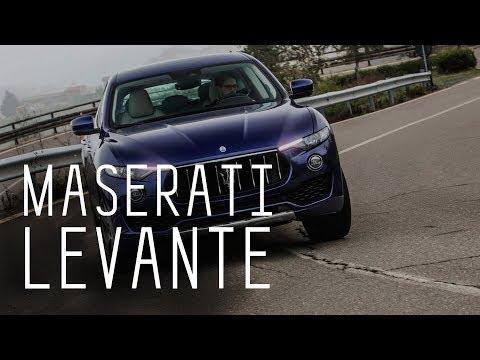 Maserati levante тест драйв видео