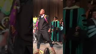 College Student Celebrates Graduation by Dancing on Stage - 990035